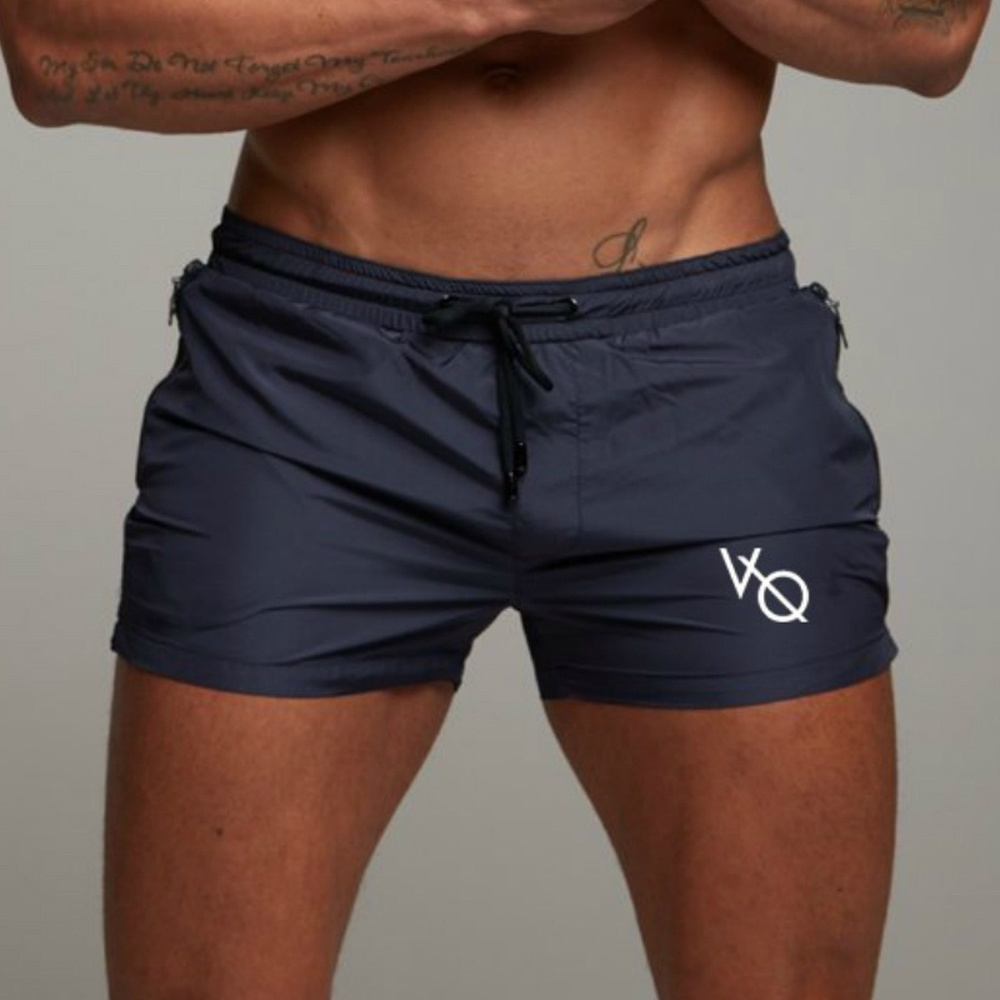 ZOGAA Mens Summer Fitness Shorts Sports Running Beach Shorts Siwmwear Geometric Printed Casual Men Shorts Plus Size S-4XL 2019
