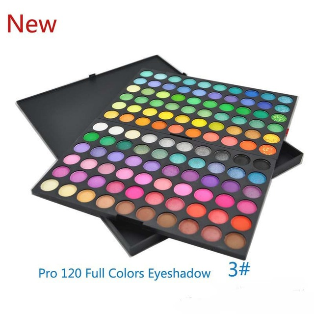 Hot selling !!!! Free shipping Pro 120 Full Color Makeup Cosmetic Eyeshadow Palette Eye Shadow