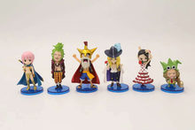 6pcs/set One piece luffy Cavendish Rebecca Bartolomeo Action Figure PVC New Collection figures toys brinquedos Collection(China)