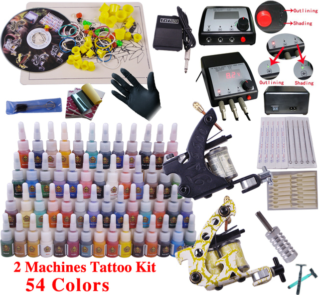 Kit Machine A Tatouer Professionnel machine a tatouage complet professionnel tattoo set for tattoo body