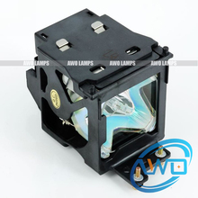 Free Shipping ET LAE500 Compatible lamp with housing for PANASONIC PT L500U PT AE500 PANASONIC PT