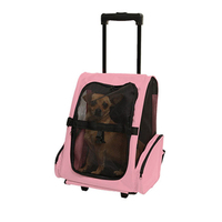 Small Animal Pet Puppy Chihuahua Rabbit Cat Carrier Backpack Luggage Travel Tote Trolley Bags for Dogs Stroller Crate