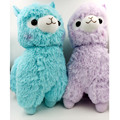 35cm Japanese Alpacasso Soft Toys Doll Giant Stuffed Animals Lama Toy 5 Colors Kawaii Alpaca Plush Kids Christmas Gift L259