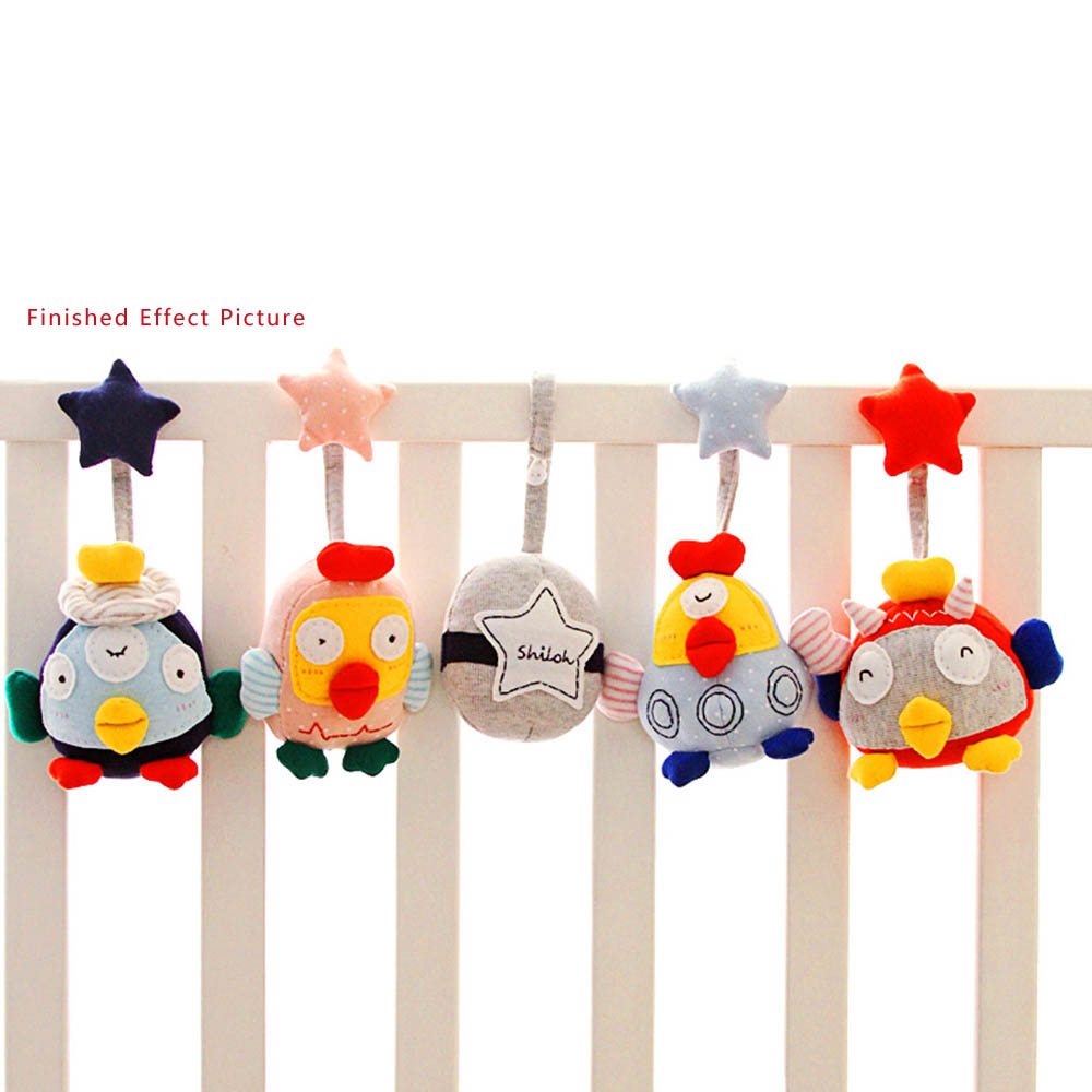 aliexpresscom  buy shiloh diy baby musical mobile crib toy plush  - aliexpresscom  buy shiloh diy baby musical mobile crib toy plush dollrattle crib rail hanging  rooster crib toy mama hand made (unfinished)from