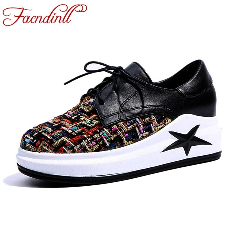 FACNDINLL brand women shoes spring summer flat female loafers casual flats woven shoes lace-up colorful shoes mujer plus size 45 2017 spring summer new women casual pointed toe loafers flats ballet ballerina flat shoes plus size 34 43