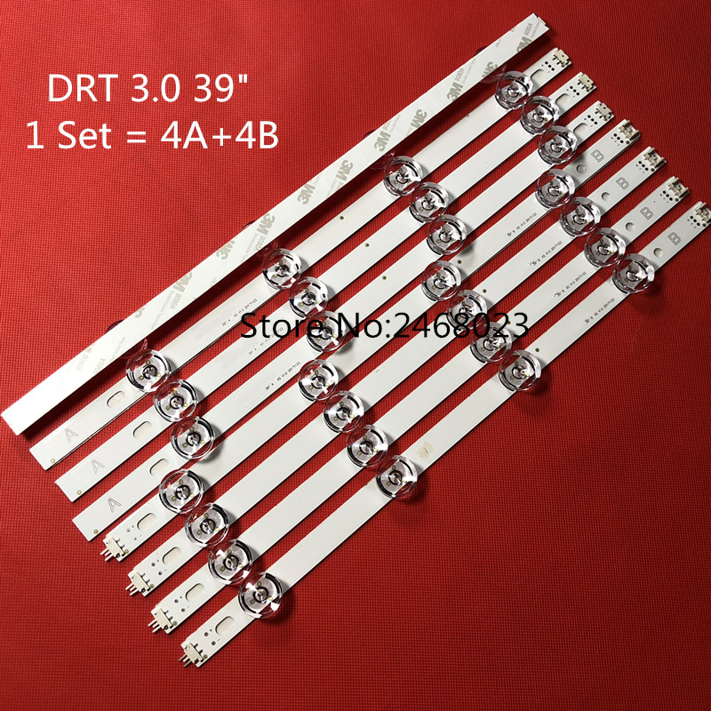 Led backlight 8 leds FOR 39LB5800 innotek DRT 3.0 39