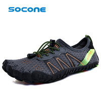 2019 hot socone men's beach shoes swimming sneakers wading Quick Drying couple water sports shoes