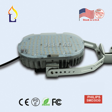3 pcs/lot stock in USA LED Retrofit Kit street lighting 100W SMD3030 with normal driver led AC100-277V