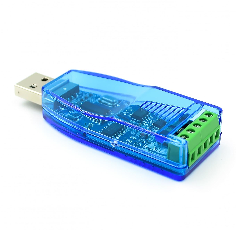 Промышленный преобразователь USB в RS485, с защитой от обновления, совместим с RS485 преобразователем V2.0, стандартный модуль платы разъема RS-485 A