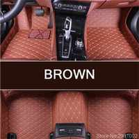 Custom car floor mats for MITSUBISHI All Models ASX 308 Eclipse roadster/cross Montero lancer Pajero Outlander Triton foot mats