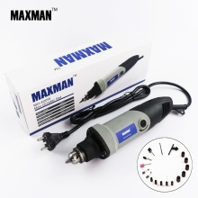 MAXMAN Professional Electric Mini Die Grinder 0.6~6.5mm Chuck Variable Speed Rotary Tool Multifunctional DIY Multi Power Tools