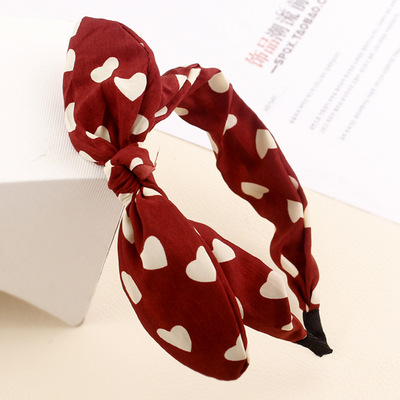 Bowknot tire hair accessories Rabbit ears ring South Korea han edition head hoop, free home delivery