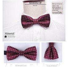 Men Formal Bowtie Necktie Boy and Men's Fashion Business Wedding Bow Tie Male Dress Shirt Krawatte Legame Gift