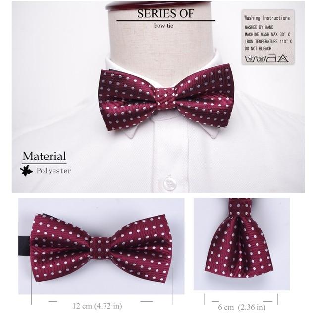 Bowtie men formal necktie boy Men's Fashion business wedding bow tie Male Dress Shirt krawatte legame gift 2