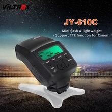 Viltrox JY-610C Mini LCD TTL Flash Speedlite pour Appareil Photo REFLEX NUMÉRIQUE Canon 760D 750D 700D 650D 600D 70D 60D 5D 7D 1200D