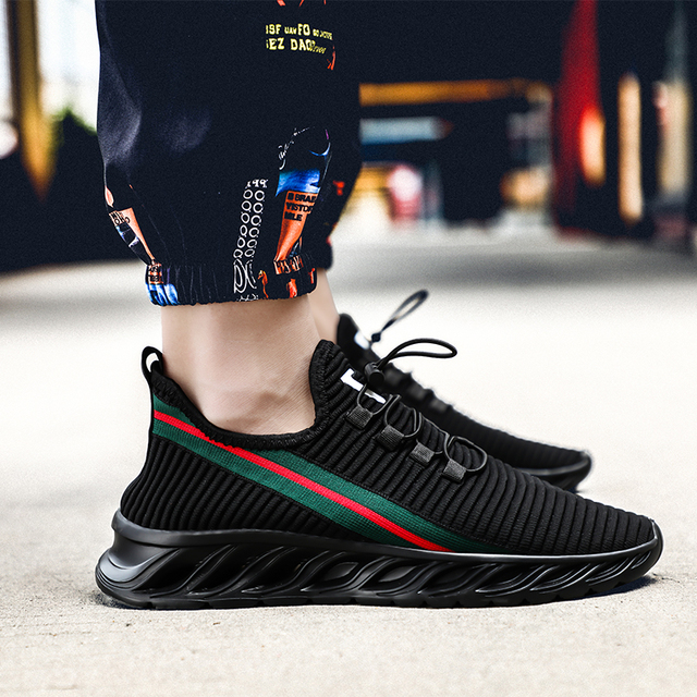 Male Sneakers Men Casual Shoes Walking Driving Office Outdoor Shoes Comfortable Lightweight Breathable Shoes For Man Big Size 4