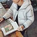 O envio gratuito de 2017 outono e inverno modelos explosão homens Coreano Magro ocasional longa seção de jaqueta casaco de leopardo