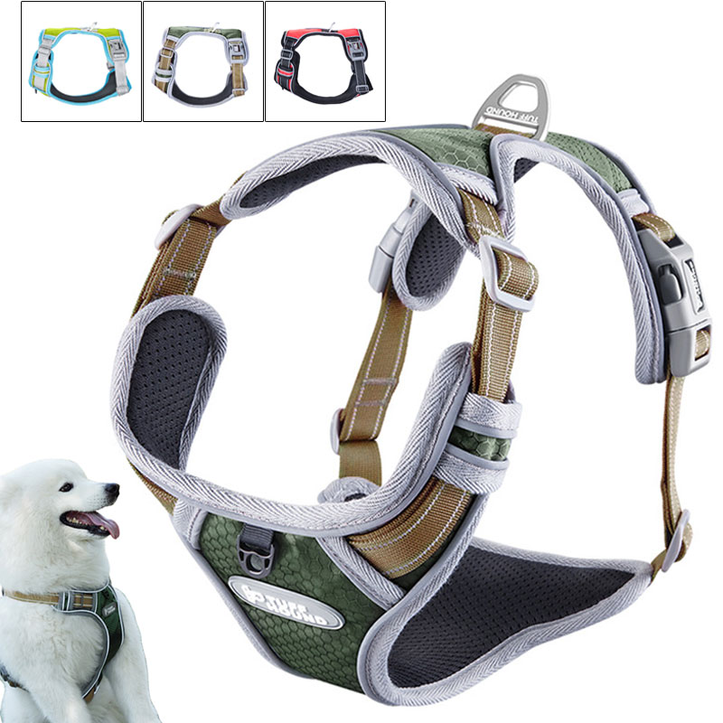 Reflective Dog Chest Strap Traction Rope Vests Dog Chains Ropes Collars and Harnesses Pet Collar Adjustable Comfort Pet ProductsReflective Dog Chest Strap Traction Rope Vests Dog Chains Ropes Collars and Harnesses Pet Collar Adjustable Comfort Pet Products