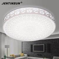 Hansvinu Modern 18W 32W 44W Acrylic Modern Led Round Ceiling Lights Lamp For Living Room Indoor