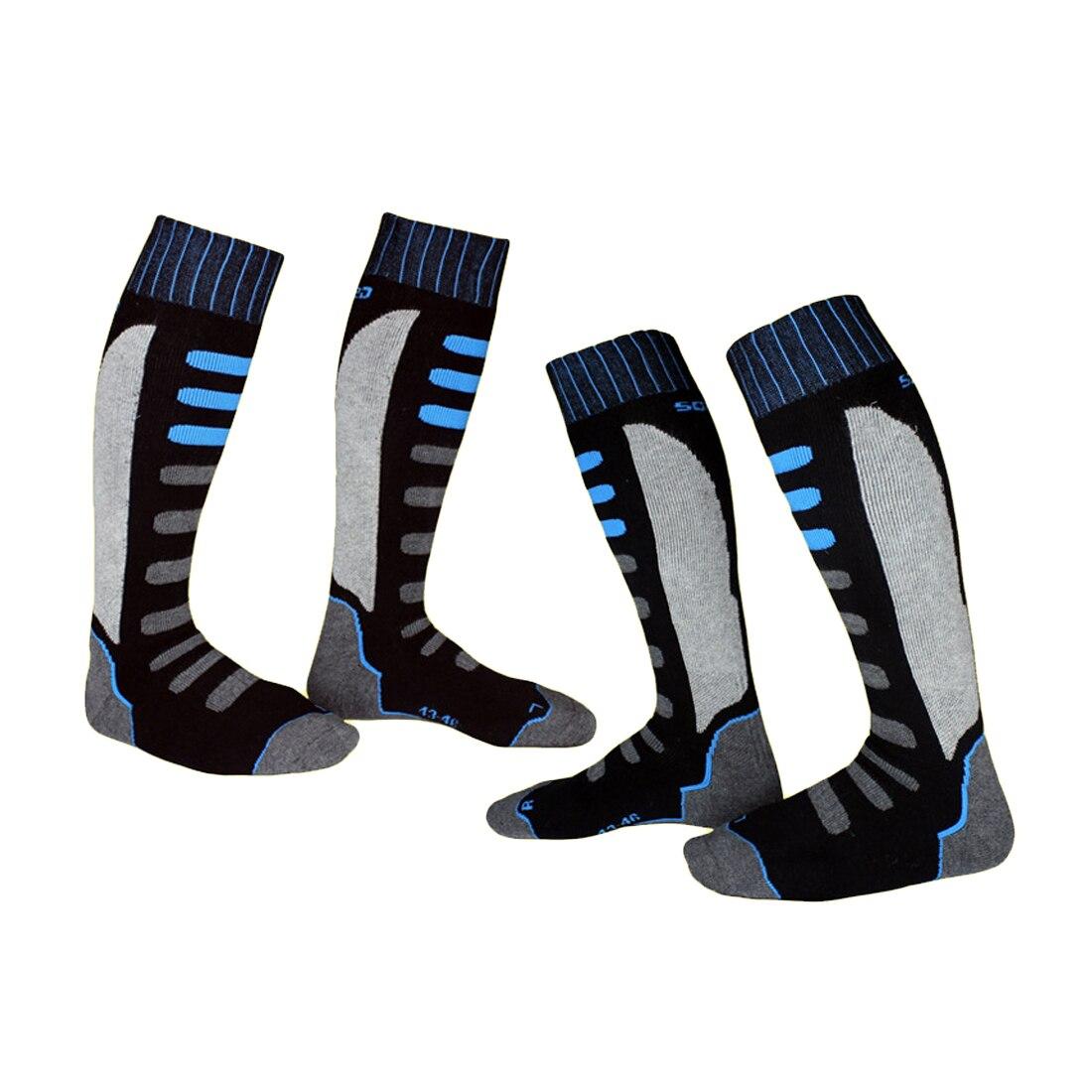 Зимние теплые Для мужчин Термальность Лыжные носки толстые хлопковые спортивные сноуборд Велоспорт Лыжный Спорт футбольные носки Chaussette ...
