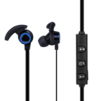 Smart Noise Reduction Sport Bluetooth4.1 Headphone with Mic for iPhone X 7P Xiaomi Stereo Earphone Calf Horn Bluetooth Headset
