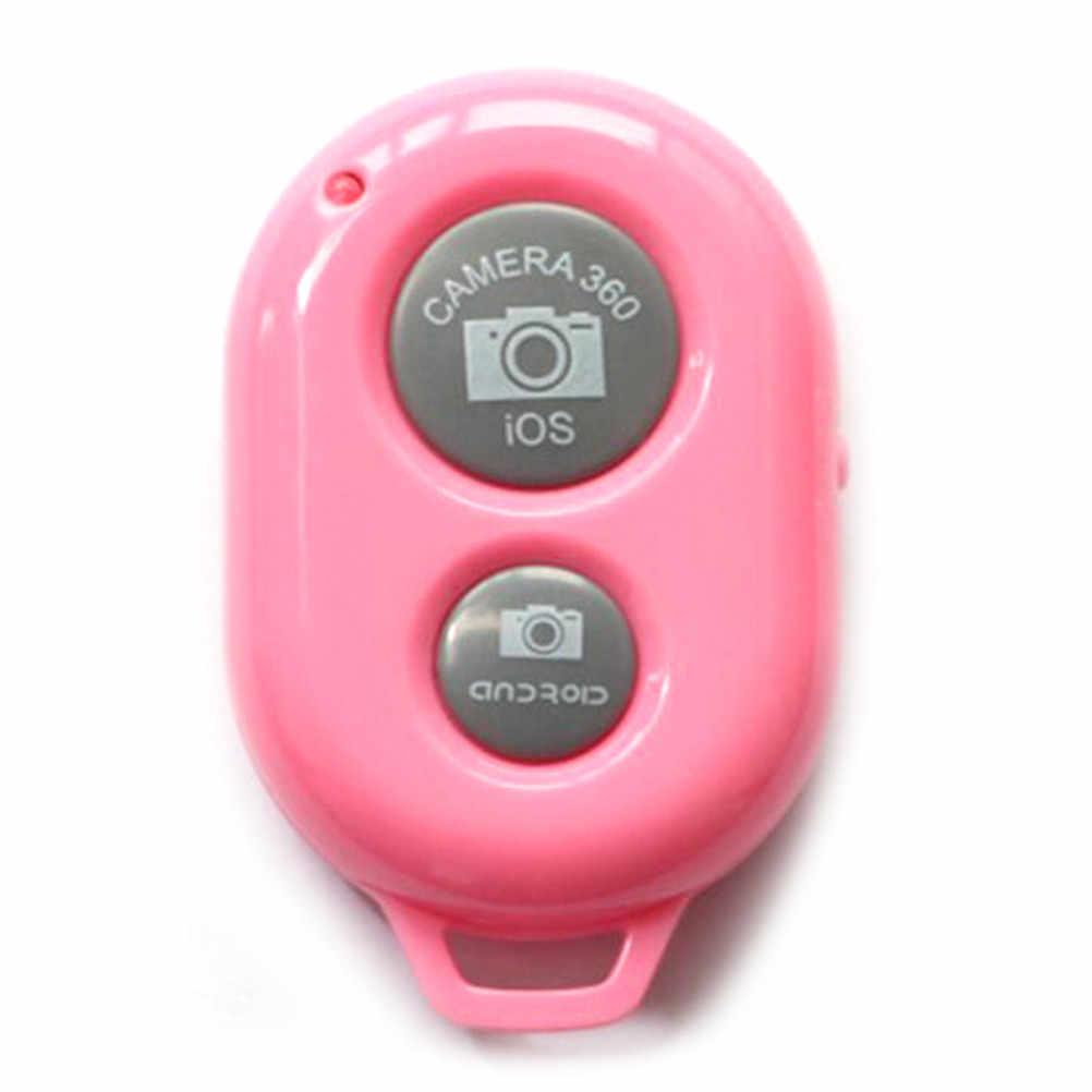 Kamera Bluetooth Jarak Jauh Pengendali Rana Rilis untuk Iphone 6 6 S 7 Pau De Selfie Tongkat untuk Samsung S8 untuk Android