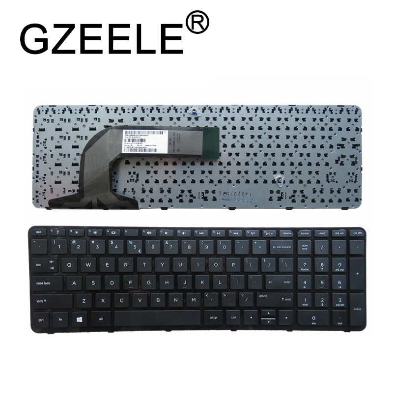 GZEELE US Keyboard For HP Pavilion 17-e014nr 17-e016dx 17-e122ca 17-e122nr 17-e172nr 17-e 17-e000 17-e100 725365-B31 710407-001