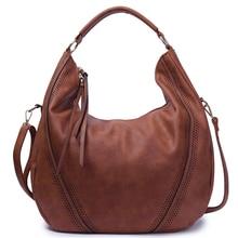 SGARR mode femmes en cuir PU sacs à main de haute qualité grande capacité dames sac à bandoulière décontracté Vintage femme Hobos fourre tout