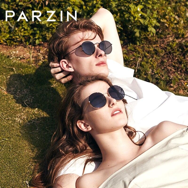 PARZIN High Quality Men Polarized Sunglasses For Driving 100 Anti UV Anti Glare TAC Lenses Classic
