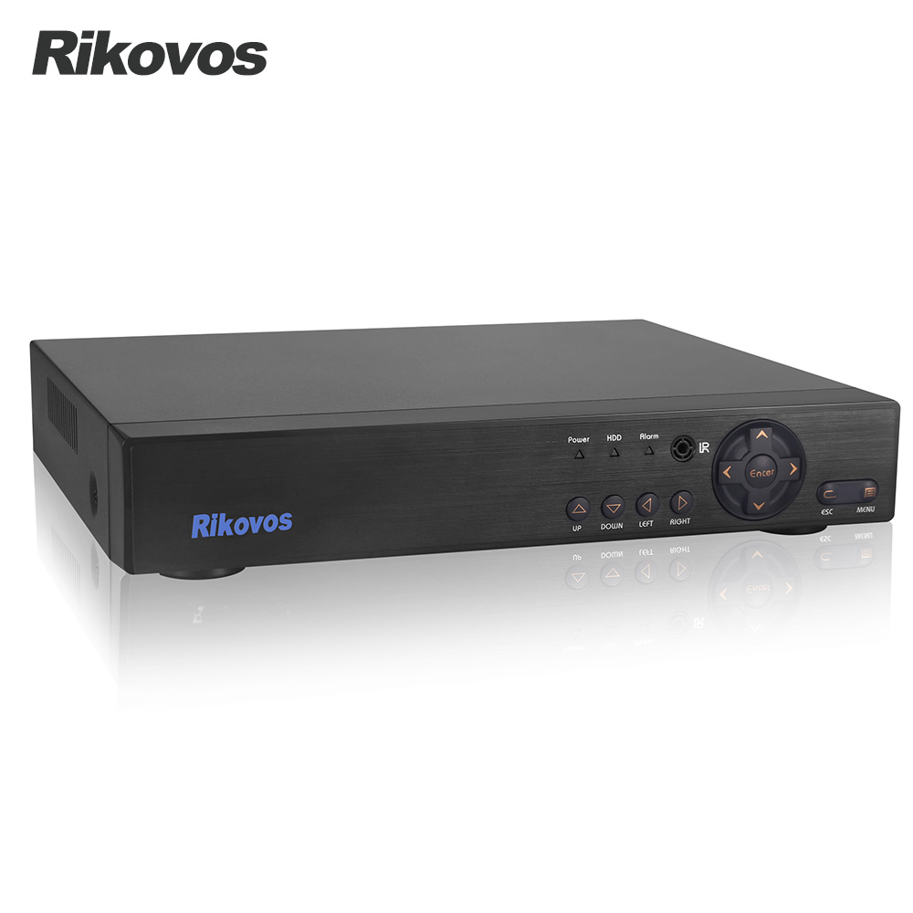 Здесь можно купить   Rikovos  4CH 1080P DVR Video Recorder Support AHD/TVI/CVI/CVBS/IP Cameras for Surveillance Camera System Безопасность и защита