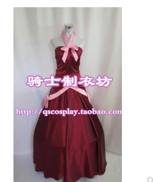hot anime Fairy Tail Mirajane Strauss Cosplay Costume Halloween costumes women girls Mirajane Strauss red dress cosplay