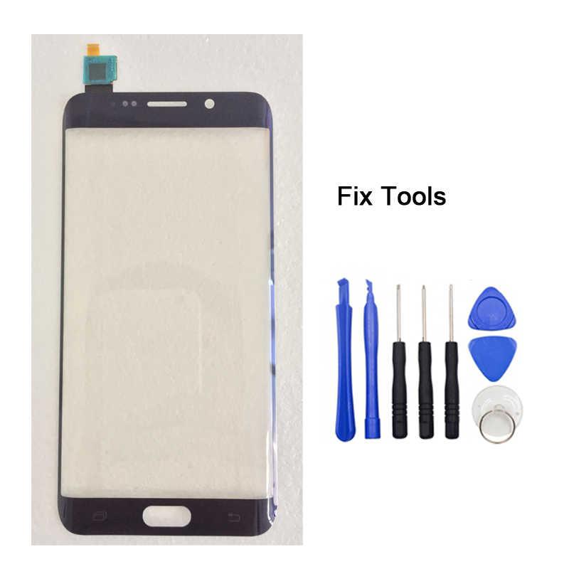 LOVAIN 1 шт. протестированный Оригинальный Для Samsung Galaxy S6 Edge + Plus G928F G928 сенсорный экран дигитайзер ЖК внешняя панель Переднее стекло + Инструменты