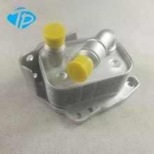 Алюминий масляный радиатор двигателя для BMW E46 E60 E81 E87 E90 316i 318i 318ci 318ti X3 11427508967