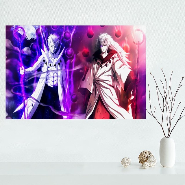 Custom Naruto Anime Canvas Painting Poster