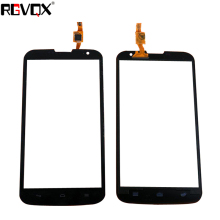 цена на New Touch Screen For Huawei Ascend G730 Digitizer Front Glass Lens Sensor Panel Replacement Repair