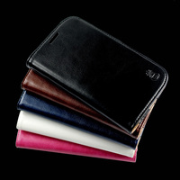Flip Cover For Samsung Galaxy S3 S4 S5 Case Luxury Coque Genuine Real Leather Wallet High