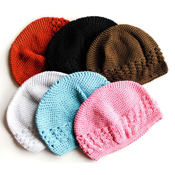 Crochet <font><b>Kufi</b></font> Hat Girl baby <font><b>kufi</b></font> hat beanie 21 Colors and 2 Sizes - Baby Toddler <font><b>Kufi</b></font> Crochet Beanie Baby <font><b>Kufi</b></font> <font><b>caps</b></font>