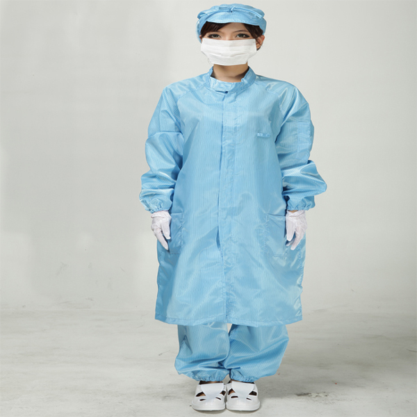 Anti Static Clothes And Cleanroom Clothes Working Clothes ESD Coat Clothes Color  Blue (No Include Trousers)