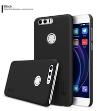 Huawei Honor 8 Case Original NILLKIN Super Frosted Shield Back Cover Case For HUAWEI Honor 8 + Free Screen Protector For Honor 8