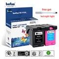 Befon Re-Hergestellt 302XL Patrone Ersatz für HP 302 HP302 XL Tinte Patrone für Deskjet 1110 1111 1112 2130 2131 2132