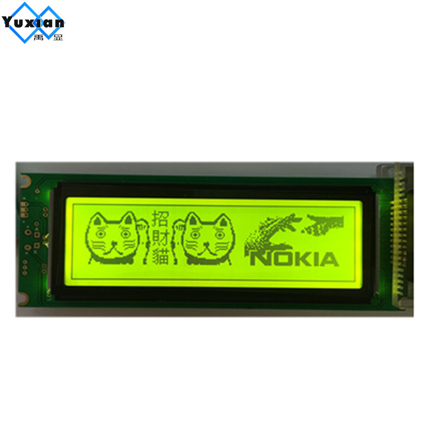 240x64 lcd display 24064 graphic module UCI6963 or T6963 180*65mm LCM24064-11 LM24064DBY free shipping