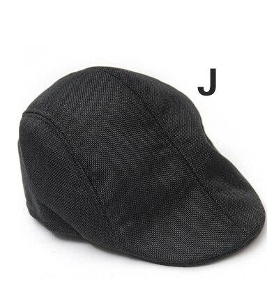 Английский стиль, однотонные весенне-зимние шапки для мужчин и женщин, модные уличные унисекс пляжные солнцезащитные шапки, новые повседневные мужские береты - Цвет: J