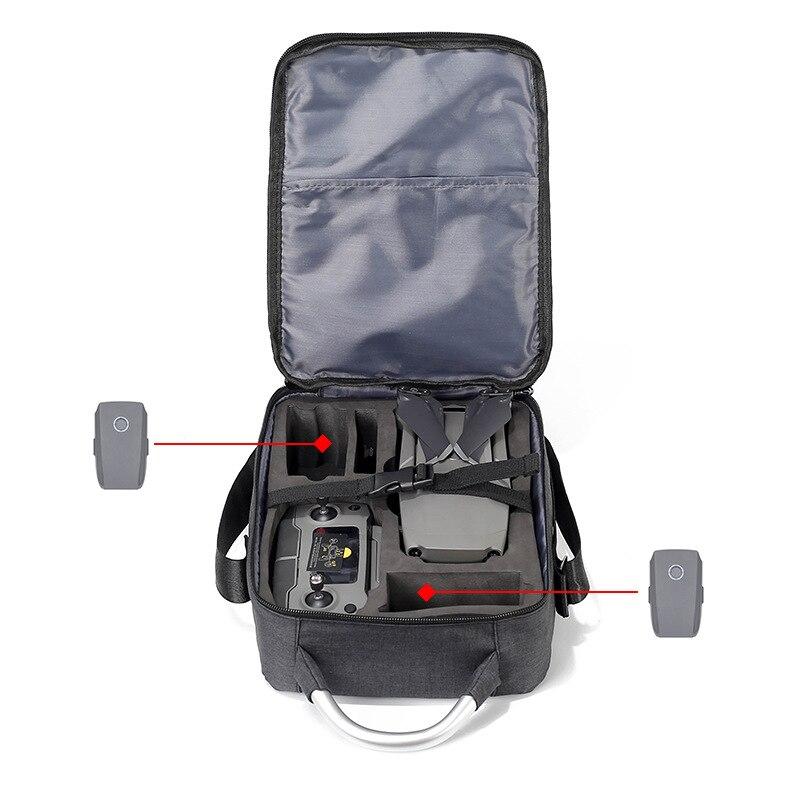 cheapest Portable Storage Bag Travel Case Carrying Shoulder Bag For DJI Mavic 2 Zoom Mavic 2 Pro Drone Handheld Bag Waterproof
