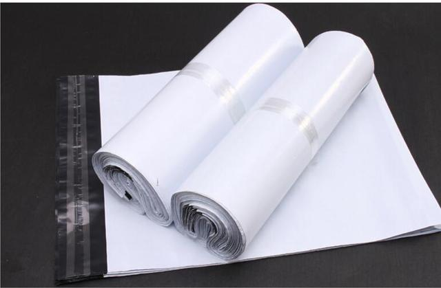 Qi 17 30cm 38x48cm Small White Poly Mailers Bag Plastic Envelope Large