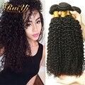 Brazilian Virgin Hair Kinky Curly Grade 7A Unprocessed Brazilian Human Hair Weave Bundles Rosa Hair Products Kinky Curly 4 Pcs