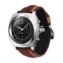 GEAK II Smart Uhr IPS Runde Touchscreen Unterstützung Android & iOS 1.26 Zoll Touchscreen Pulsmesser Schrittzähler Echt Smartwatch