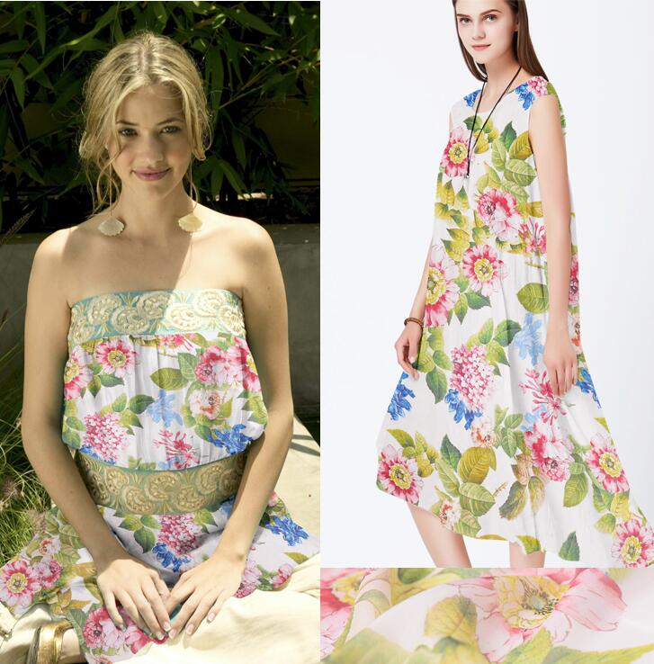 Tissu de soie robes quilting couture textile tissu mètre tissu de noël, textiles de maison, telas patchwork, gaz pimienta tissusC085