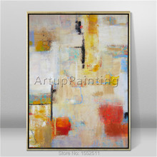 Modern abstract beautiful Colour oil painting Hand painted canvas the sitting room decorative 10