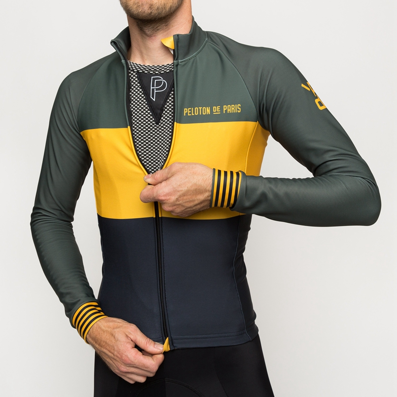 Low Price Autumn De paris team cycling clothing 2019 Spring long sleeve cycling jersey men Breathable bike riding shirt 100% polyester 33046726998