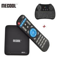 MECOOL M8S Pro + Android 7.1 Amlogic S905X PRO TV Box 2.4 GHz WiFi ondersteuning 4 K x 2 K 1G 8G 2G 16G Smart Set-top TV Box Mediaspeler
